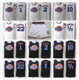 China Stitched Space Jam Tune Squad Jerseys Michael 1 Bugs Twetty 1 3 Murray Lola Taz ! D.Duck 2 SHORTS halloween shirts black Road Runner Lepew supplier runner shorts men suppliers