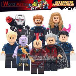 $enCountryForm.capitalKeyWord Australia - 10LOTS OF Super Heroes Thanos Pepper Ayo Iron Man Captain America Scarlet Witch Building Blocks Bricks Children Gift Toys