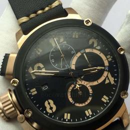 u boat watches 2019 - 50mm limited edition DIVER U 1001 vk quartz chronograph working chrono Men stop watch wristwatch italy watches u boat