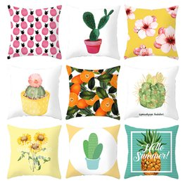 Home Textile Home & Garden Trustful 18 Square Lovely Birds Printed Decorative Throw Pillow Cushion Covers Case For Sofa Home Decor Almofada Funda Cojines In Stock