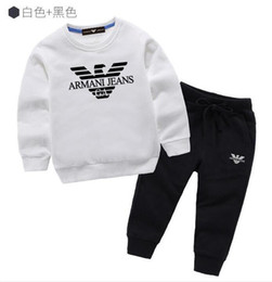 Christmas long sleeve dress tutu online shopping - SALE Baby Boys And Girls Suit Brand Tracksuits Kids Clothing Set Hot Sell Fashion Spring Autumn Children s Dresses Long Sleeve H