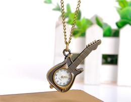 $enCountryForm.capitalKeyWord Australia - 2019 Vintage bracelet style ancient Watches violin personality retro pocket watch wholesale Korean alloy necklace casual female quartz