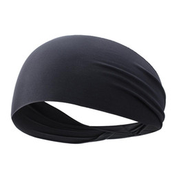 Workout headbands online shopping - Men Women No Slip Ultra Thin Sports Headband Quick Drying Gym Yoga Cross Training Jogging Workout Cycling Sweatband For Running