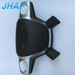Wheel max online shopping - Car Cover Driver Airbag For Ford Focus C MAX Escape Kuga SRS Steering Wheel SRS Airbag Cover Emblem Logo Include