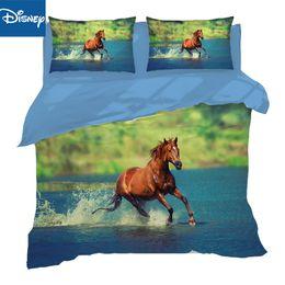 $enCountryForm.capitalKeyWord Australia - 3D Printing Horse Bed Linen Pillowcases Duvet Cover 3 4pcs auqueen full twin size Bedding Set Flat Sheet hot sale