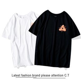 man casual long shirt trends UK - T-shirt Men S Summer New Trend Breathable T-shirt Fashion Print T-shirt Men And Women