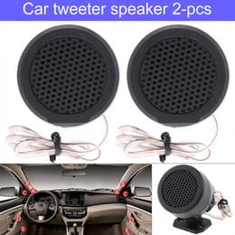 $enCountryForm.capitalKeyWord Australia - TP-006A 2pcs 500W High Efficiency Mini Dome Tweeter Speakers for Car Audio Systems
