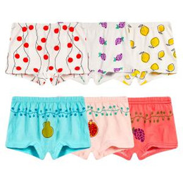 Cute Cartoon Underwear Australia - Child Cartoon Cotton Boxer Briefs Fashion Underwear Cute Girls Breathable Underpants Boy child baby boxer shorts LJJT239