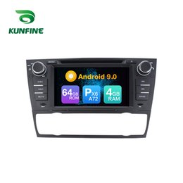 bmw series dvd player UK - Android 9.0 Core PX6 A72 Ram 4G Rom 64G Car DVD GPS Multimedia Player Car Stereo For BMW 3 Series Radio Headunit