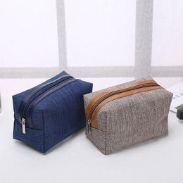 $enCountryForm.capitalKeyWord NZ - Fashion portable cosmetic bag Simple square bags Commute Storage Customized logo Zipper handbag Home Furnishing fashion