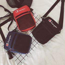$enCountryForm.capitalKeyWord NZ - Champions Mesh Pocket Waist Bag Oxford Crossbody Fanny Packs Unisex Belt Shoulder Messenger Bags Sports Beach Travel Storage Bags New C3267