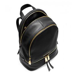 Navy Style Backpack Australia - famous brand backpacks designer fashion women lady black red rucksack bag charms Backpack Style