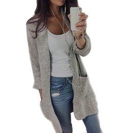 38c70677c 2018 estilo de rua outono inverno mulheres blusas de manga comprida solta  tricô cardigan camisola mulheres cardigan de malha puxar femme