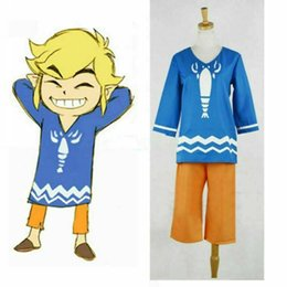 $enCountryForm.capitalKeyWord Australia - Link Costume from The Legend of Zelda The Wind Waker top and pants Any size