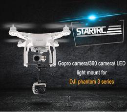 $enCountryForm.capitalKeyWord Australia - STARTRC GoPro Camera Holder Mount Led light Bracket Kit for DJI Drone Phantom 3