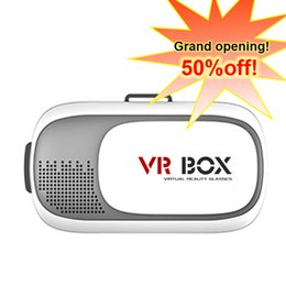 Wholesale 2nd generation Foldable Virtual 3D Glasses Head-mounted Virtual Reality vrbox,Foldable Head-mounted 3D Games Movies Virtual Reality vrbox