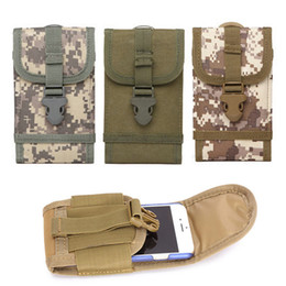 $enCountryForm.capitalKeyWord Australia - New Multi-function Waterproof Army Tactical Molle Bag Cell Phone Smartphone Waist Pouch Sport Case Pack Shape D Buckle#297734