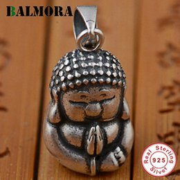 $enCountryForm.capitalKeyWord Australia - ALMORA 100% Real 925 Sterling Silver Jewelry Buddhistic Jewelry Buddha Pendants for Necklaces Men Accessories Gifts SY12358 BALMORA 100% ...