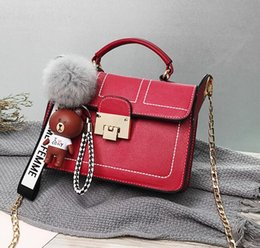 Cosmetic Bags Locks Australia - New Women bags fashion Women bag Messenger Bags Chain Shoulder Bag lady bags Famous handbags Wallet Tote Cosmetic Bag