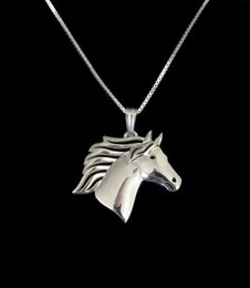 cute jewelry for sale NZ - New trendy HOT Sale Horse Head pendant Necklace for women cute charm christmas gift fashion pretty jewelry
