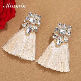 Ethnic fringEs jEwElry online shopping - Minmin Vintage Bohemian Long Drop Tassel Earrings for Women Statement Ethnic Fringe Dangle Earrings Fashion Jewelry EH1488