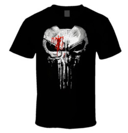 $enCountryForm.capitalKeyWord UK - The Punisher New Skull Jon Bernthal Frank Castle Body Armor Painted T Shirt S-7XMen Women Unisex Fashion tshirt Free Shipping