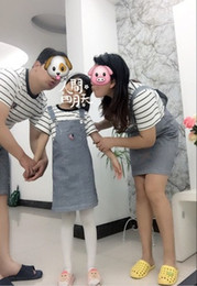 mom son clothing UK - Family Matching Outfits Striped Family Clothing Mom Mother and Daughter Clothes Father and Son Clothes Family Clothing Kids Clothing