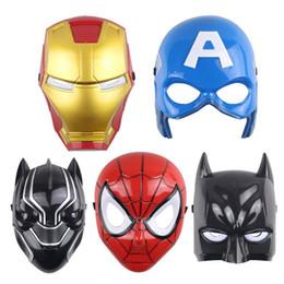 $enCountryForm.capitalKeyWord Australia - LED Masks Children Animation Cartoon Spiderman Light Mask Masquerade Full Face Masks Halloween Costumes Party Gift