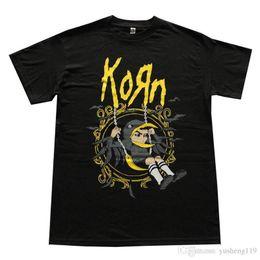$enCountryForm.capitalKeyWord NZ - Tee Shirt Hipster Harajuku Brand Clothing T Shirt Korn Nu Metal Short Sleeve Printed O-Neck Tee For Men