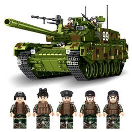 Model Military Tanks Australia - Compatible legoing military tank vape battle model fighter army world armourd vihicle war 1 i ii2 ww1 bricks building blocks