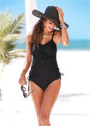 $enCountryForm.capitalKeyWord Australia - Sexy Plus Size Swimwear for Women Bikini Set 2019 Summer Solid Swim Wear Bathing Suit Woman Beach Biquini Tankini Set Maillot de Bain Femme