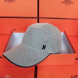 f65ee111874 H Hat Australia - Trendy Luxury Baseball Caps Unisex Fashion H Design  Adjustable Hats Mens and