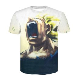 7c70aecc27 Shop 3d Cartoon White T Shirt UK | 3d Cartoon White T Shirt free ...