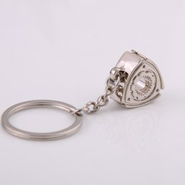 sun moon ring UK - Gift Automobile Refitting Rotor Engine Keychain Key Ring Pendant Waist Hanging Advertising