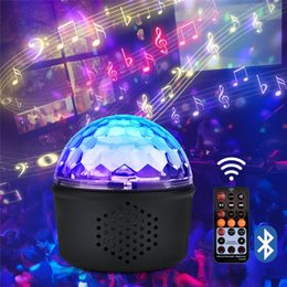 $enCountryForm.capitalKeyWord Australia - Multifunction speaker Bluetooth stage light Romantic Night Light 3 In 1 LED Stage Light party Decoration Atmosph lamp