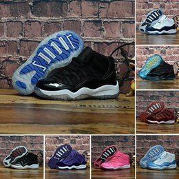 $enCountryForm.capitalKeyWord Australia - Cool Kids 11 11s Space Jam Bred Concord Gym Red Outdoor Shoes Child Boy Girls White Pink Midnight Navy Sports Sneakers Toddlers 28-35