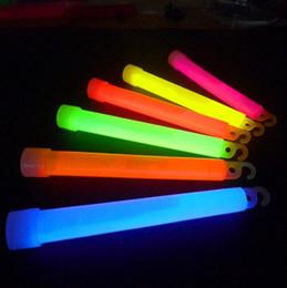 Glow Stick Party Decorations Australia - 6 inches Fluorescent Glow Stick Light Stick Premium Bright Glowing Neon Stick For Party Bar Decoration LX5821