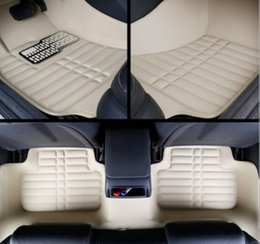 Accessories For Ford Ecosport NZ - For Ford Ecosport 2013-2017 Car Floor Mats Front & Rear Liner Accessories Non-slip waterproof leather Carpets Auto Luxury sedan Pads