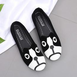 $enCountryForm.capitalKeyWord NZ - Designer Dress Shoes Original Muqgew Womens Women's Round Toe Heel Cartoon Animal Casual Loafers Doug Single Sapatos Femininos #t