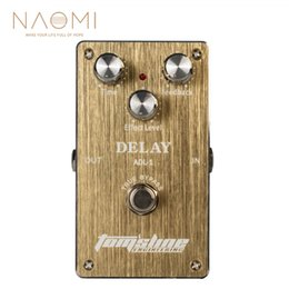 accessories for electric guitar NZ - NAOMI Guitar Effect Pedal Electric Guitar Delay Pedal Delay Effect Pedal ADL-1 True Bypass Guitar Parts Accessories New