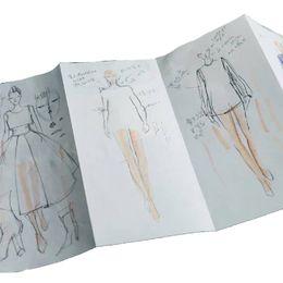 Figures Australia - Women Fashion Template Paper Panel Flexible Sketchpad Womens Figure for Fashion Designers; 9 Pages per Panel (Total 6 Panels)