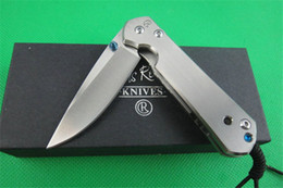 Chris reeve knife d2 online shopping - CHRIS REEVE CR Sebenza Pocket Knife EDC Tool Titanium Alloy Handle D2 Drop Point Blade Outdoor Tactical Camping Folding Knives P133R Q