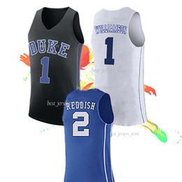 324025085b8 NCAA 32 LAETTNER jerseys 4 REDICK 2 Cam Reddish Duke 1 Zion Williamson  College Basketball New hot selling 2019