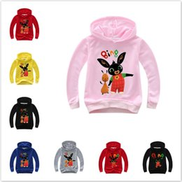 $enCountryForm.capitalKeyWord Australia - New Autumn Kids Cartoon Print Baby Boys Hoodies Coats Girls Rabbit Long Sleeve T-Shirts Sweatshirts Children Costumes