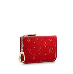 $enCountryForm.capitalKeyWord UK - M90214 Key Pouch WOMEN REAL LEATHER LONG WALLET CHAIN WALLETS COMPACT PURSE CLUTCHES EVENING KEY CARD HOLDERS
