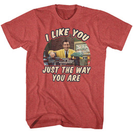 Ways print shirts online shopping - Mr Rogers Kids TV Show I Like You Just They Way You Are Adult T Shirt Funny Unisex Casual top