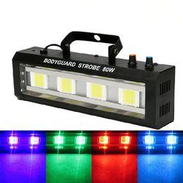 Strobe light effect online shopping - 40W W W W DMX512 LED Strobe light Stage Flashing Lighting Bar Disco DJ KTV Sound Activated Lamp Stage Effect Lighting