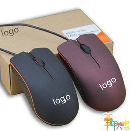 Usb Computer Mice Australia - USB Optical Mouse Mini 3D Wired Gaming Mice With Retail Box For Computer Laptop Notebook Game Lenovo M20 Free Shipping 2019 new