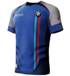 $enCountryForm.capitalKeyWord Australia - MotoGP Motorrad T-shirt For bmw Racing Team Motorsport Cycling Polyester T-shirt Summer Men's Motorcycle Short Jersey Blue Shirt Manche c