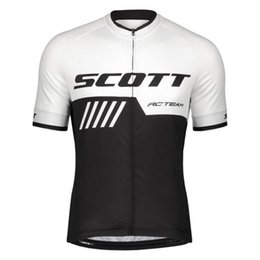 Cycling Clothing Spain Australia - New! SCOTT team cycling jersey ropa ciclismo hombre bicycle clothing quick-dry short sleeves bike shirt mtb maillot mountain Racing spain